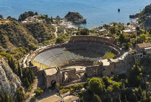 Ancient Theatre in Taormina