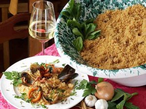 Cous Cous with Fish