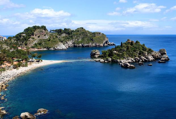 Isola Bella Taormina in Sicily