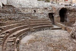 Odeon Theatre in Taormina