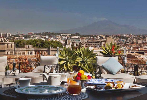 Restaurant Sicily Etna