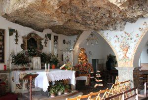 Madonna della Rocca Sanctuary in Taormina