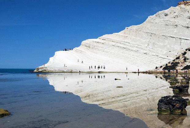 Scala dei Turchi in Sicily