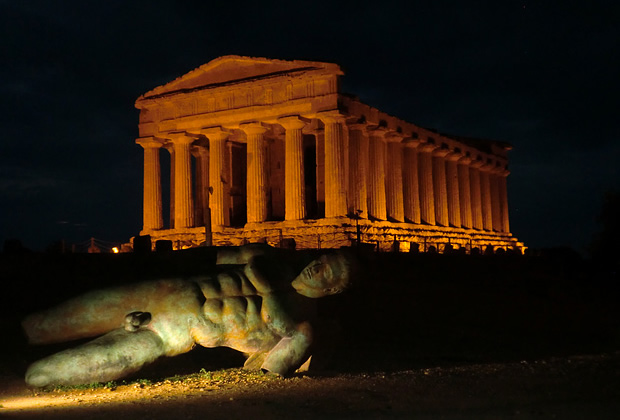 Valley of the Temples Agrigento in Sicily