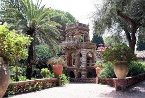 Giardini della Villa Comunale a Taormina
