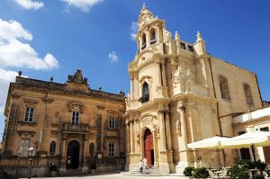 Chiesa San Giuseppe nel centro storico di Ragusa Ibla