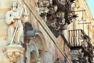 Mascheroni Barocchi di Palazzo Cosentini